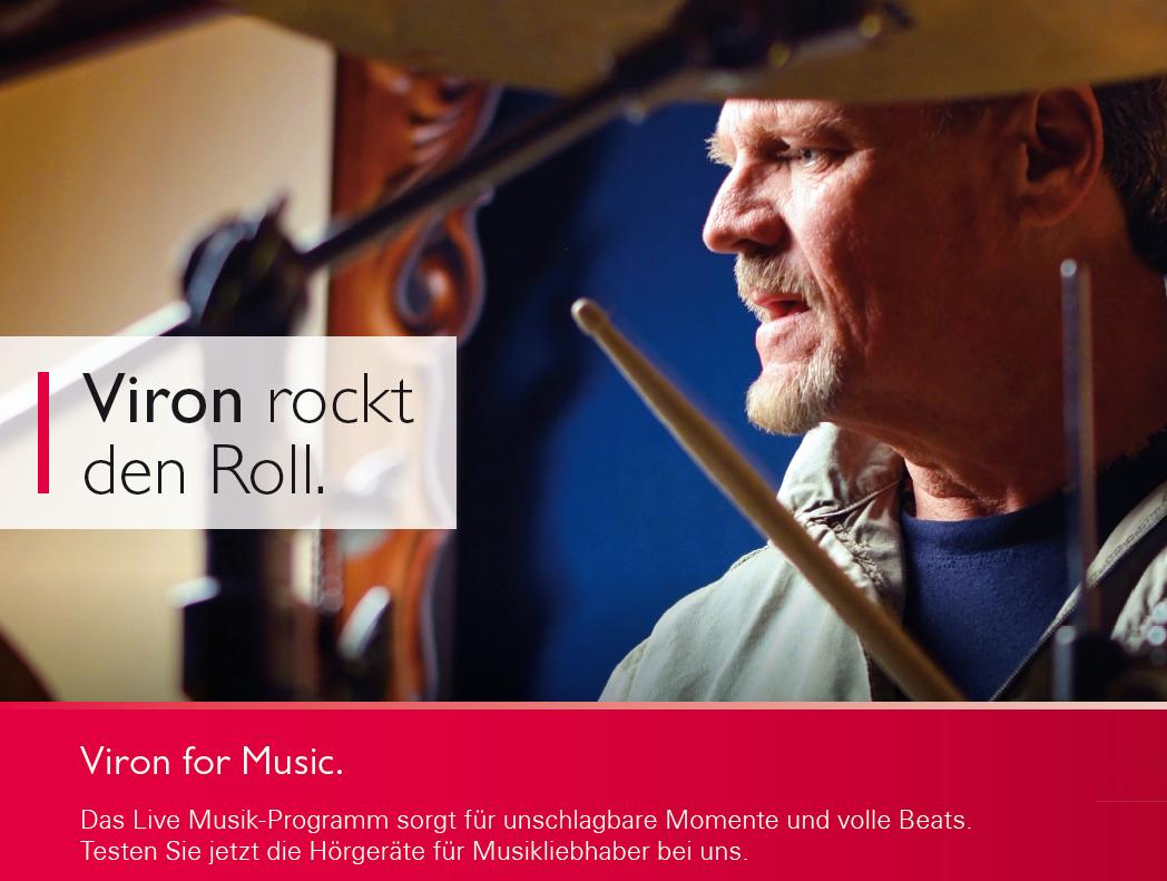 Musikgenuuss mit Hörgerät Bernafon Alpha in Marl und bei Ihrem HNO-Arzt