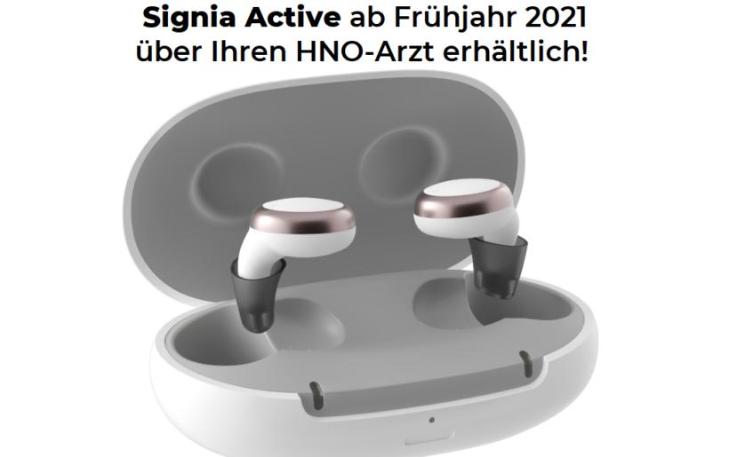 Hörgerät Signia Active pro in Marl und bei Ihrem HNO-Arzt
